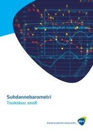 EK:n Suhdannebarometri, toukokuu 2008 - Elinkeinoelämän ...