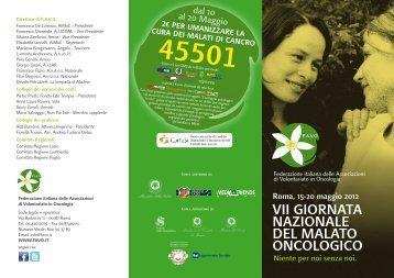 programma 3 ante favo 2012 - Governo Italiano
