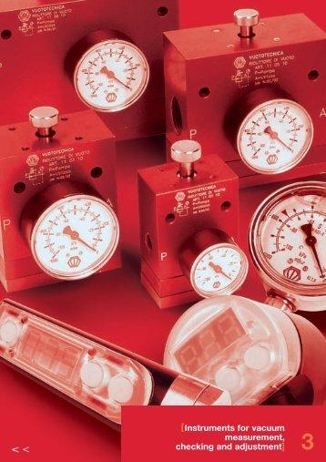 Vacuum gauges - Amet