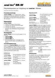 seal-tec RM-AF (Technische Information) - ist-web.com
