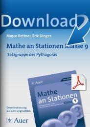Mathe an Stationen Klasse 9