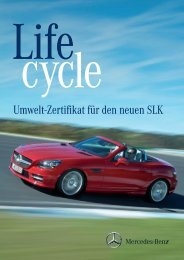 SLK Roadster Umweltzertifikat Download (PDF, 5.927 KB)