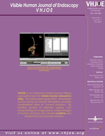 Download this issue in PDF format - Visible Human Journal of ...