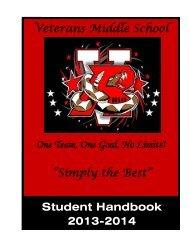 Student Handbook - rgccisd