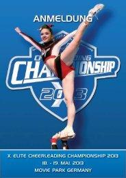 Anmeldeformulare X. ECC 2013 (deutsch) - ELITE Cheerleading