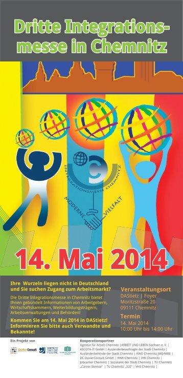 Zweite Integrationsmesse in Chemnitz Am 8.Mai 2013 von ... - Globus