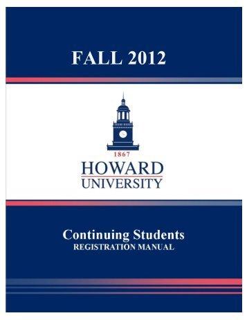 FALL 2012 - Howard University