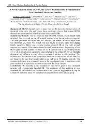 A Novel Mutation in the HCN4 Gene Causes Familial Sinus ...