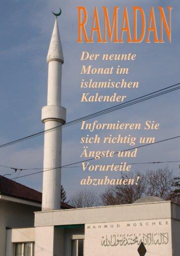 Der neunte Monat im islamischen Kalender Informieren Sie sich ...
