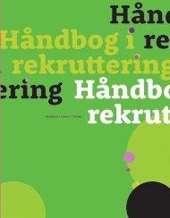 HÅNDBOG I REKRUTTERING - Personaleweb