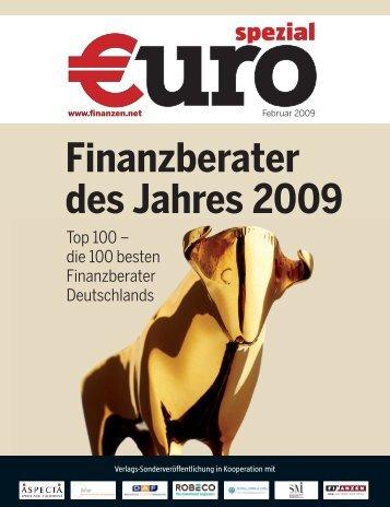 Finanzberater des Jahres 2009 - Mainzer Volksbank eG