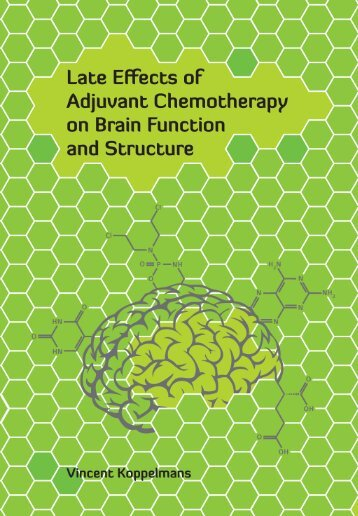 Late Effects of Adjuvant Chemotherapy on Brain Function and ...