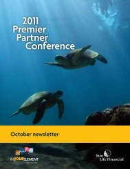2011 Premier Partner Conference - Sun Life Financial