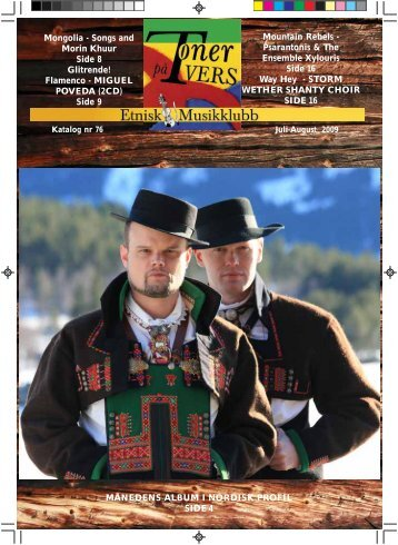 Katalog nr 76 - Velkommen til Etnisk Musikklubb