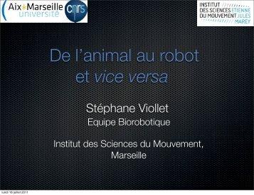 Stéphane Viollet - Institut des Systèmes Intelligents et de Robotique