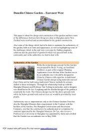 Dunedin Chinese Garden – East meet West..pdf - Asia Knowledge