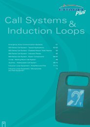 Call Systems& Induction Loops - WF Senate