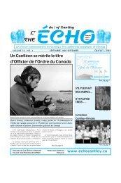 Septembre - Echo of Cantley / Écho de Cantley