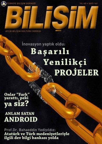 DOSYABilişimde 2011'in ödüllü/başarılı inovasyon ... - Bilişim Dergisi