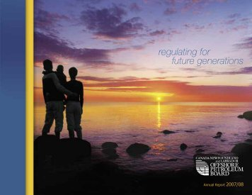 cnlopb 2008 - Canada-Newfoundland Offshore Petroleum Board