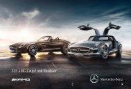 SLS AMG Coupé and Roadster - Mercedes-Benz UK