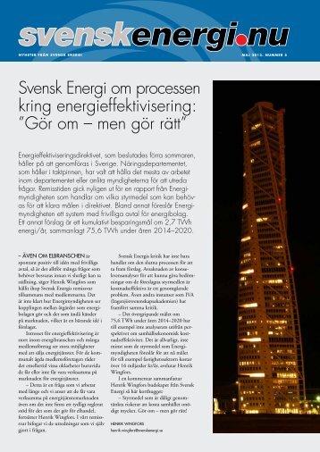 Svenskenergi.nu nr 5