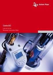 Carbo QC Brochure - MEP Instruments