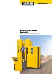 Adsorpsjonstørker Serie DC - KAESER Kompressorer