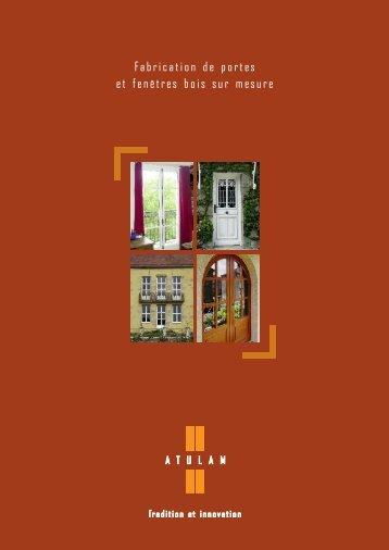 Catalogue commercial - Les fermetures Rhodaniennes
