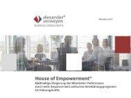 House of Empowerment - alexander verweyen BUSINESS ...