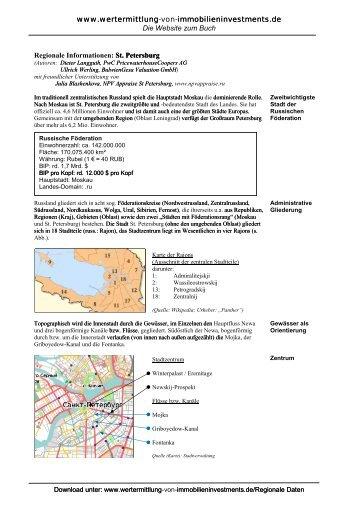 Sankt Petersburg - wertermittlung-von-immobilieninvestments.de