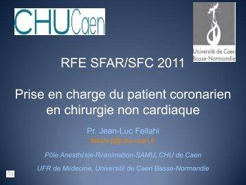 Quantification du risque Jean Luc FELLAHI (Caen) - JLAR