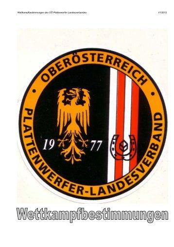 Download Wettkampfbestimmungen 2012 - ooeplattenwerfer ...