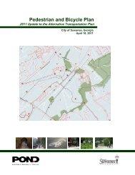 Pedestrian and Bicycle Plan - Suwanee, Georgia