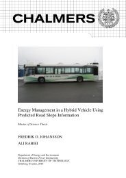 Energy Management in a Hybrid Vehicle Using Predicted Road ...