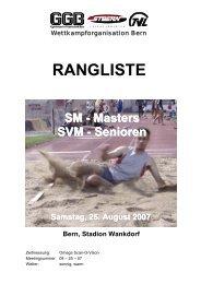 RANGLISTE - LA-Bern