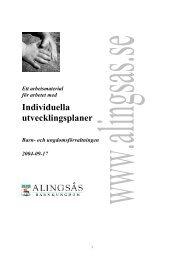 IUP, Individuella utvecklingsplaner - GR