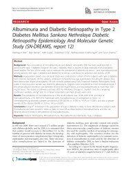 Albuminuria and Diabetic Retinopathy in Type 2 Diabetes Mellitus ...