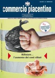 l'aumento dei costi rifiuti - Unione Commercianti di Piacenza