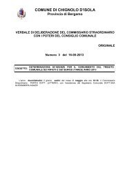 DELIBERA SCADENZE TARES.pdf - Comune di Chignolo d'Isola