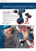 3 akulla! - Bosch-sähkötyökalut - Page 4