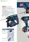 3 akulla! - Bosch-sähkötyökalut - Page 6