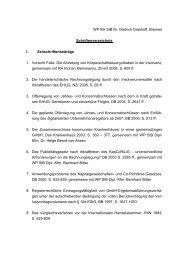 WP RA StB Dr. Dietrich Grashoff, Bremen Schriftenverzeichnis I ...