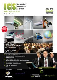 MORE THAN 70 LEADING COMPANIES AND ... - JEC Composites