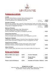 Speisen & Getränke (Stand Juni 2013) PDF ... - Helms-Lounge