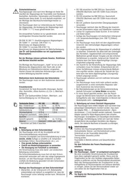 Einbauanleitung - Kutzner+Weber