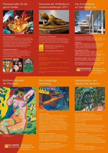 Das Kunsterlebnis am Starnberger See Panorama der Weltkulturen ...