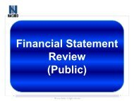 Financial Statement Review (Public) - NACUBO