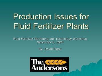 D. Plank - Fluid Fertilizer Foundation