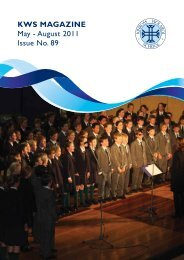 KWS MAGAZINE May - Kinross Wolaroi School